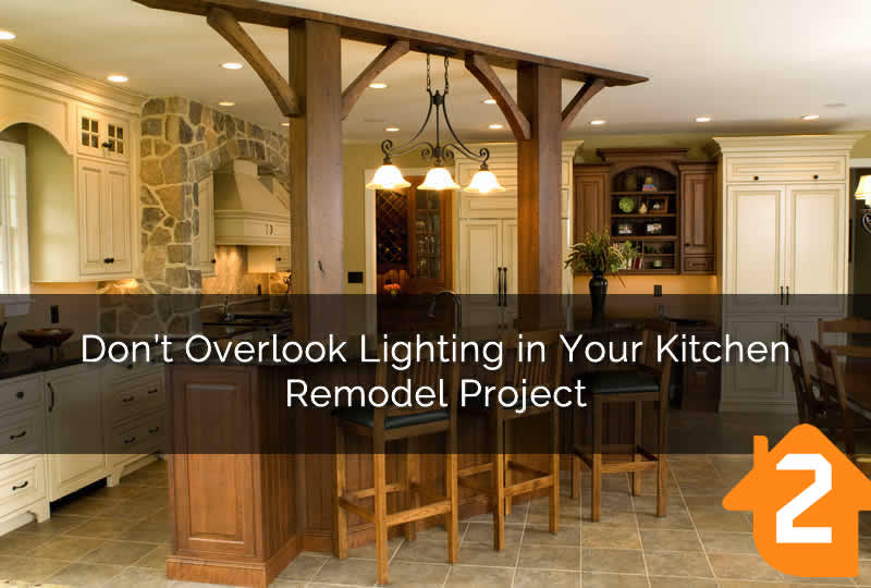 Kitchen Remodel Lighting Project