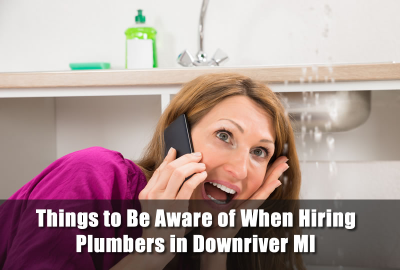 Things to Be Aware of When Hiring Plumbers in Downriver MI