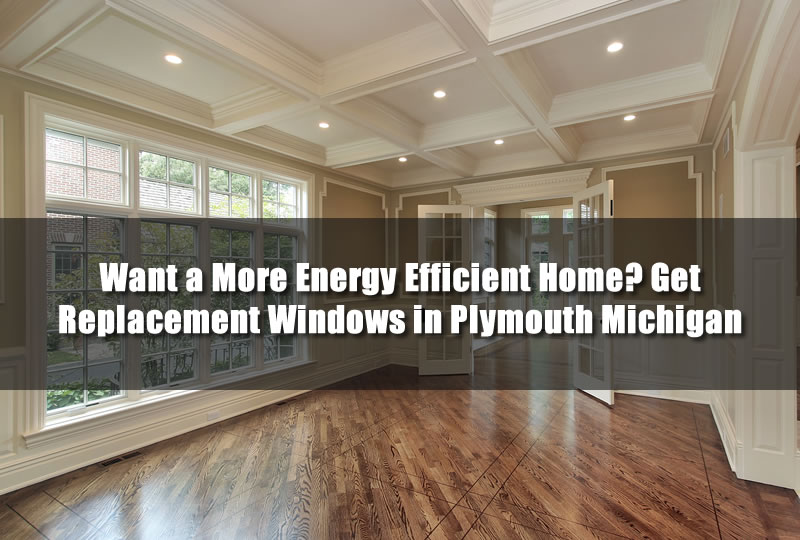 Want a More Energy Efficient Home? Get Replacement Windows in Plymouth Michigan