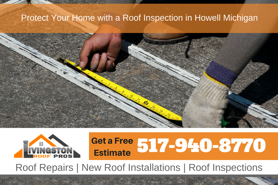 Protect Your Home with a Roof Inspection in Howell Michigan