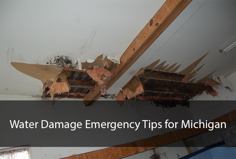 Water Damage Emergency Tips for Michigan 2