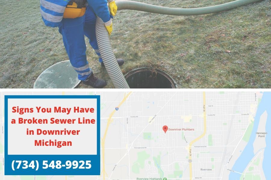 Signs You May Have a Broken Sewer Line in Downriver Michigan