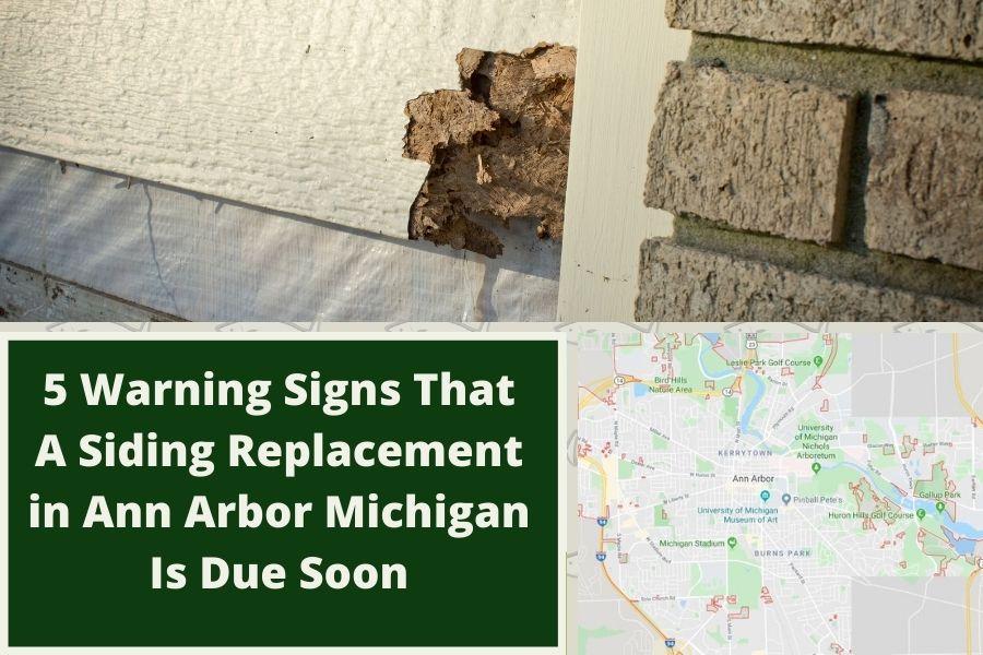 Siding Damage Ann Arbor MI