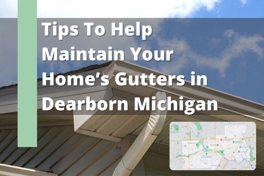 Roof Gutters Dearborn MI
