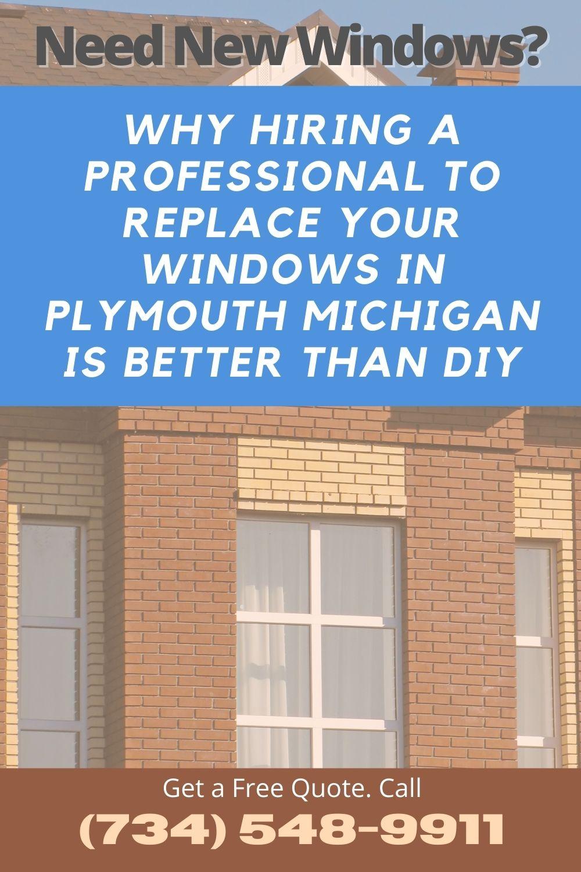 New Windows Plymouth MI
